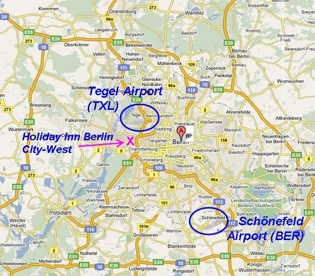how to get from berlin tegel airport to the city centre
